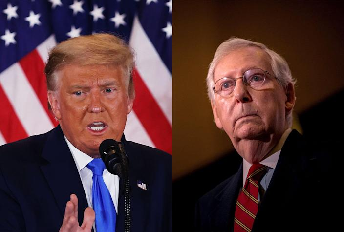 Donald Trump; Mitch McConnell
