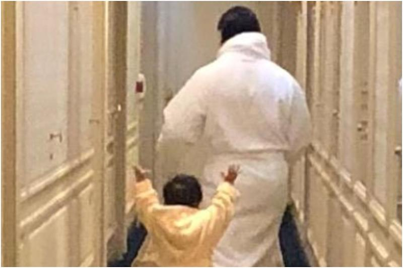 Kareena Kapoor Shares Pic of Taimur and Saif Ali Khan from Indoors, Urges Fans to Stay Home