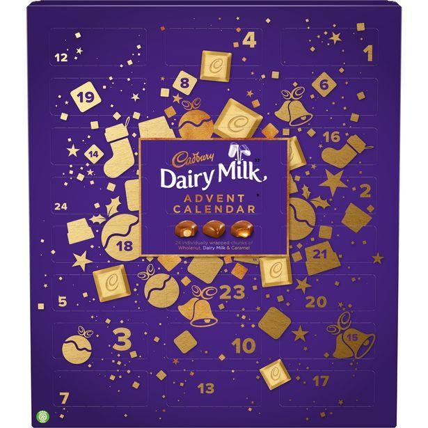 <p>Not just your average Cadbury Dairy Milk advent calendar, this bad boy is stocked up with creamy milk chocolate chunks with a range of fillings, including whole nut, caramel, and for you purists out there, there are plain Dairy Milk chunks too.</p>