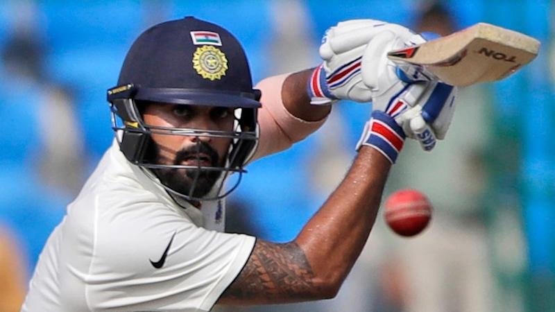 Murali Vijay Ruled Out of 2nd Test vs Aus Due to Shoulder Injury