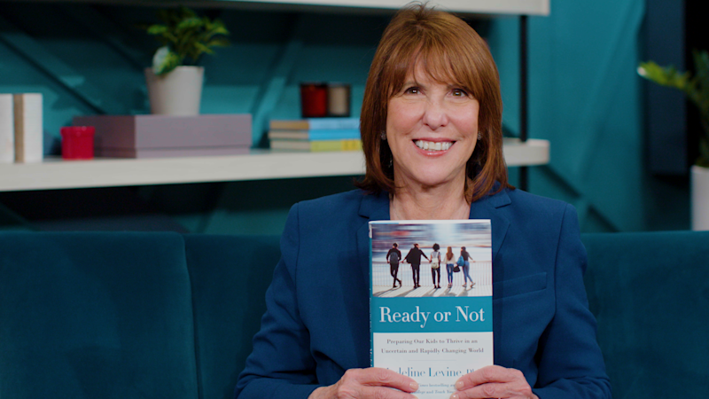 """Dr. Madeline Levine is a clinical psychologist and author of """"Ready or Not: Preparing Our Kids to Thrive in an Uncertain and Rapidly Changing World."""""""