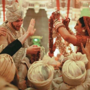 <p>Priyanka Chopra's wedding outfits </p>