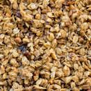 """<p>The granola you usually find at the store packs a ton of calories, fat, and sugar. """"While granola can be part of an overall healthy diet, check the label,"""" says <a href=""""http://tastybalancenutrition.com/"""" rel=""""nofollow noopener"""" target=""""_blank"""" data-ylk=""""slk:Lindsey Pine, R.D."""" class=""""link rapid-noclick-resp"""">Lindsey Pine, R.D.</a> """"Some brands can have 600 calories per cup."""" She recommends choosing one with less than 150 calories, six grams of sugar and two grams of saturated fat per 1/4-cup serving. </p>"""