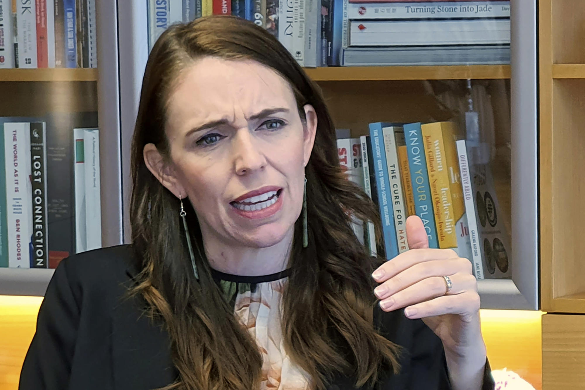 New Zealand leader Ardern takes tougher stance on China – Yahoo News