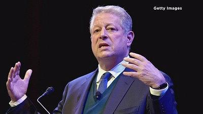 Al Gore dumped about half of his holdings in Apple stock this Feburary.