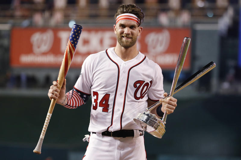 c0006e88e Home Run Derby  The old Bryce Harper returned for a few hours Monday ...