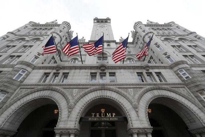 Trump International Hotel in Washington, DC. (Photo: Alex Brandon/AP)