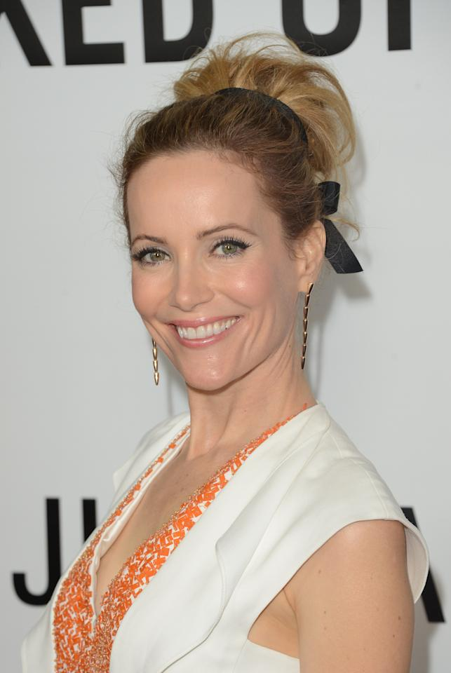 HOLLYWOOD, CA - DECEMBER 12:  Actress Leslie Mann attends the premiere Of Universal Pictures' 'This Is 40' at Grauman's Chinese Theatre on December 12, 2012 in Hollywood, California.  (Photo by Jason Merritt/Getty Images)