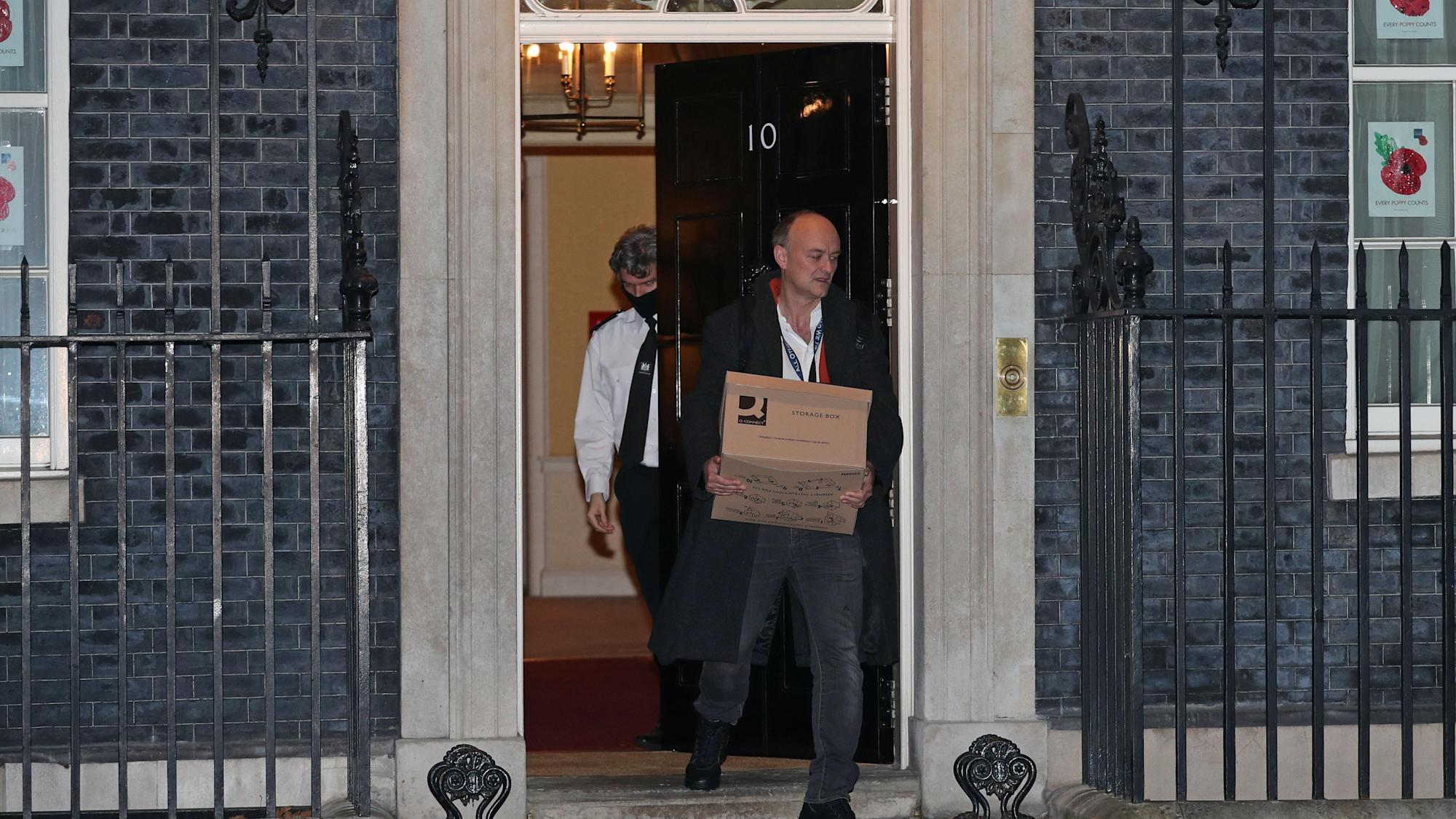Dominic Cummings' Downing Street exit part of an 'episode', says minister