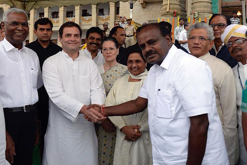 After 4-1 Victory, Kumaraswamy's Analysis on Why Grand Alliance Will Defeat BJP Under Rahul Gandhi