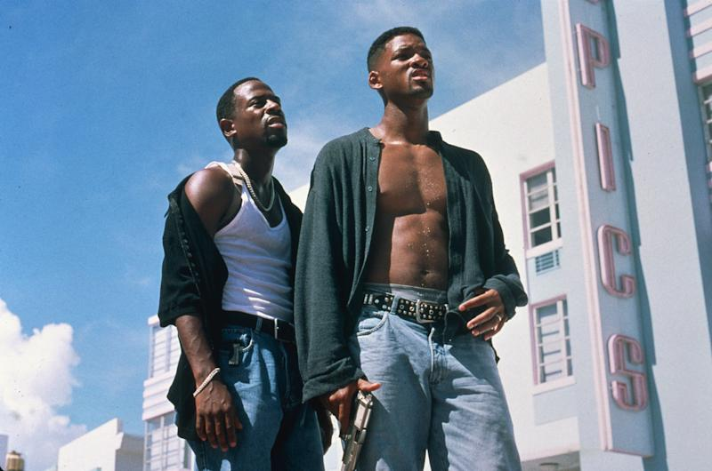 Martin Lawrence and Will Smith in 'Bad Boys' (Sony)