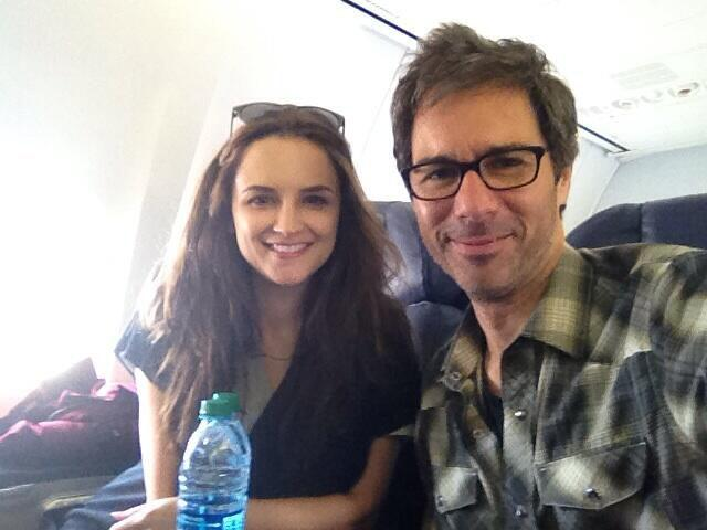 Off to NY for TNT upfronts with my costar @RachaelLCook... and EVERYBODY on TNT! Crazy! pic.twitter.com/TqQ0Nqpbwa