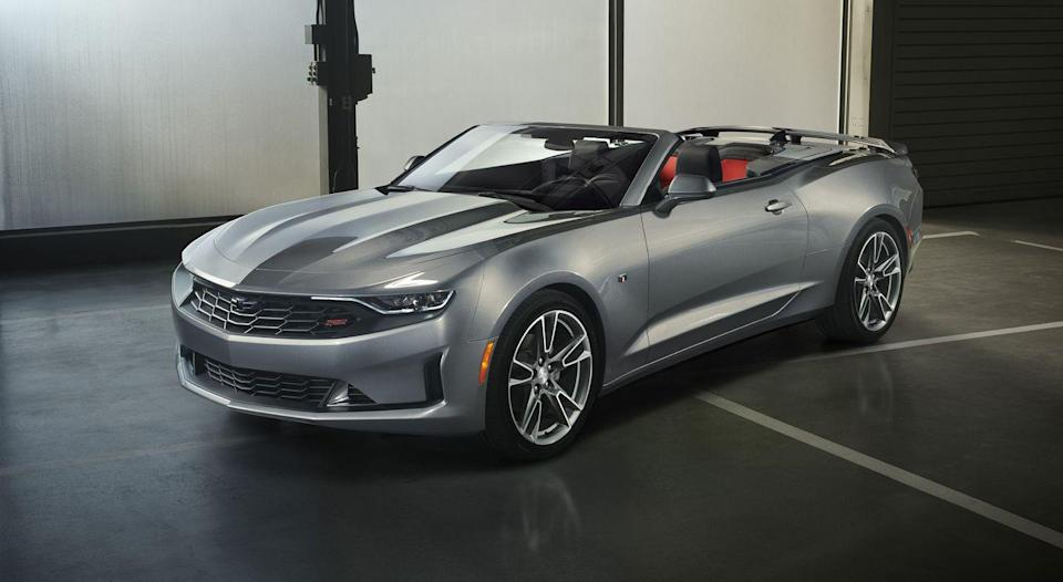 "<p>Not every Chevy Camaro packs a muscular V-8 and a manual transmission, which makes it accessible and desirable to most driving enthusiasts. The <a href=""https://www.caranddriver.com/chevrolet/camaro-2020"" rel=""nofollow noopener"" target=""_blank"" data-ylk=""slk:2020 Camaro"" class=""link rapid-noclick-resp"">2020 Camaro</a> has unique styling that's ripe for customization. While its cabin feels cramped, the pony car is endlessly enjoyable to drive. A dutiful four-cylinder and spunky V-6 are the most affordable engines, but Chevy's brilliant 6.2-liter V-8 sounds great and goes like stink. An incredible performance package—called 1LE—is available on all coupes and transforms them into versatile track machines. Still, the 2020 Camaro continues the nameplate's tradition of offering something for everyone.</p><p><a class=""link rapid-noclick-resp"" href=""https://www.caranddriver.com/chevrolet/camaro-2020"" rel=""nofollow noopener"" target=""_blank"" data-ylk=""slk:Review, Pricing, and Specs"">Review, Pricing, and Specs</a></p>"