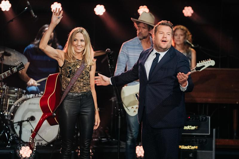 LOS ANGELES - SEPTEMBER 16: The Late Late Show with James Corden airing Monday, September 16, 2019, with guests Constance Wu, Neil Patrick Harris, and music from Sheryl Crow. (Photo by Terence Patrick/CBS via Getty Images)