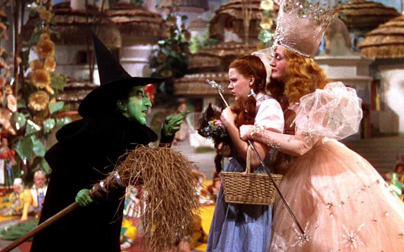 The actress who played The Wicked Witch of the West suffered second and third-degree burns (Credit: MGM)
