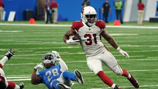 The Cardinals aren't the only team lamenting the loss of RB David Johnson. <br>(AP)
