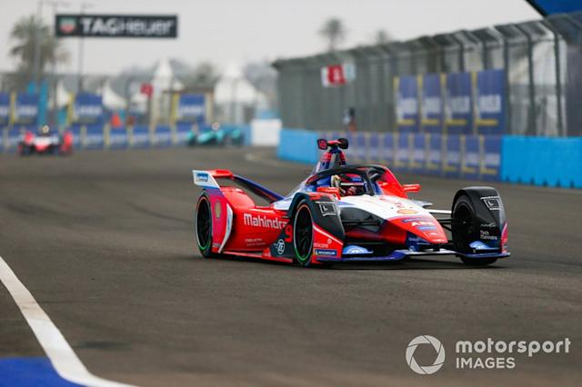"Pascal Wehrlein, Mahindra Racing, M6Electro <span class=""copyright"">Dom Romney / Motorsport Images</span>"