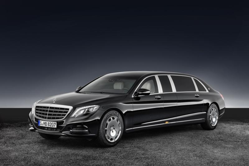 Mercedes-Maybach's armored S600 is built like a tank, with a price tag to match