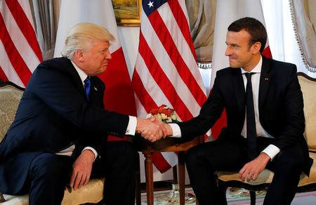 Emmanuel Macron: my handshake with Trump was 'a moment of truth'
