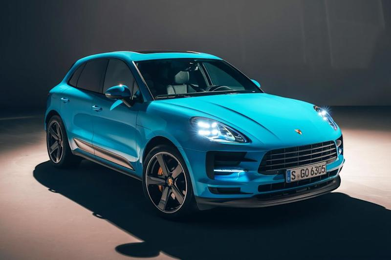 The 2019 Porsche Macan Gets Way More Than Some Fancy New Colors