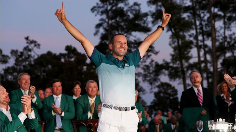Watch: Sergio Garcia's Masters win the perfect response to Ryder Cup taunts