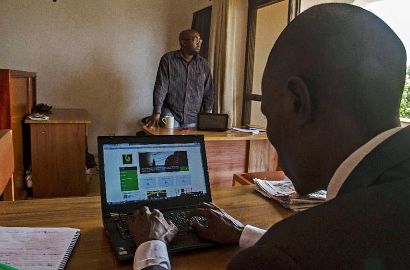 Barefoot Law receives up to 100 queries a day ranging from the absurd to everyday issues (AFP Photo/Isaac Kasamani)