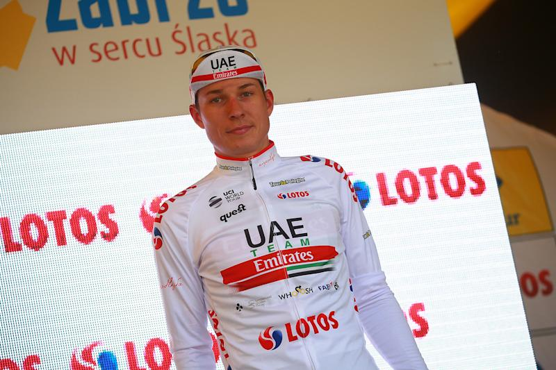 Jasper Philipsen of UAE Team Emirates leads the sprint classification after stage 2