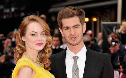 Actress, Emma Stone, is reportedly growing close to her ex Andrew Garfield again - Credit: Gareth Cattermole/Getty Images Europe