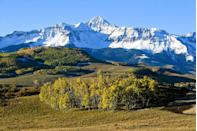 """<p><strong>The Drive: </strong><a href=""""https://www.tripadvisor.com/Attraction_Review-g28927-d104146-Reviews-San_Juan_Skyway-Colorado.html"""" rel=""""nofollow noopener"""" target=""""_blank"""" data-ylk=""""slk:San Juan Skyway Scenic Byway"""" class=""""link rapid-noclick-resp"""">San Juan Skyway Scenic Byway</a></p><p><strong>The Scene: </strong>Make your way through canyons and valleys on a road that was once used by miners over a hundred years ago. From historical mining towns to hot springs, this drive features some of the best views in the country.</p><p><strong>The Pit-Stop: </strong>Between <a href=""""https://www.tripadvisor.com/Tourism-g33646-Silverton_Colorado-Vacations.html"""" rel=""""nofollow noopener"""" target=""""_blank"""" data-ylk=""""slk:Silverton"""" class=""""link rapid-noclick-resp"""">Silverton</a> and <a href=""""https://www.tripadvisor.com/Tourism-g33581-Ouray_Colorado-Vacations.html"""" rel=""""nofollow noopener"""" target=""""_blank"""" data-ylk=""""slk:Ouray"""" class=""""link rapid-noclick-resp"""">Ouray</a>, ride along on <a href=""""https://www.tripadvisor.com/Attraction_Review-g33646-d104148-Reviews-Million_Dollar_Highway-Silverton_Colorado.html"""" rel=""""nofollow noopener"""" target=""""_blank"""" data-ylk=""""slk:&quot;The Million Dollar Highway,&quot;"""" class=""""link rapid-noclick-resp"""">""""The Million Dollar Highway,""""</a> a route built in the late 1880s—with its endless curves and turns, you'll be in for a fun ride (as long as you're cautious)! </p>"""