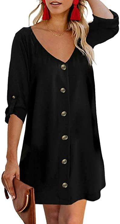 <p><span>AlvaQ Button-Down Dress</span> ($20, originally $25)</p>