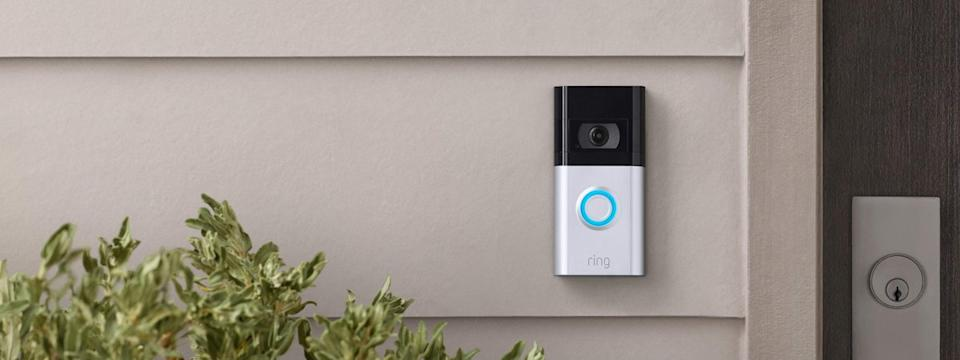 Ring Doorbell 4 lifestyle image.