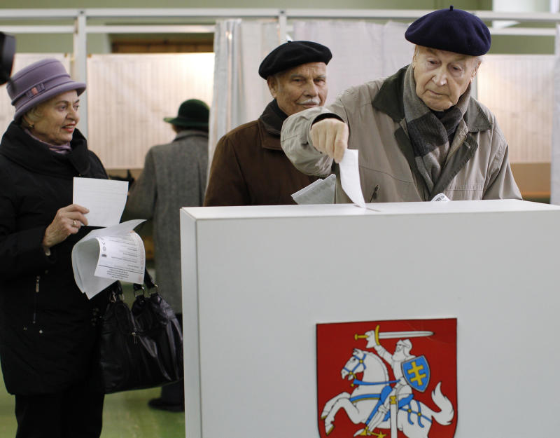 Opposition expected to gain in Lithuanian ballot