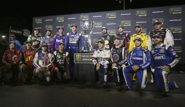 Which of these 16 drivers will be the champion? (AP)