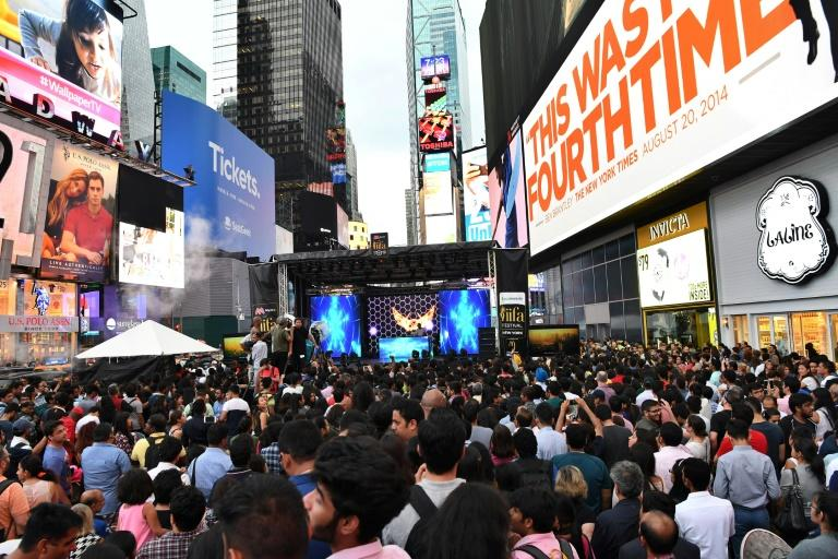Bollywood blockbuster releases in parts of North America and Britain are huge events, with passionate fans often queueing for hours