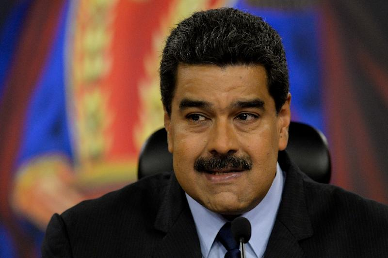 """Venezuela President Nicolas Maduro said in a speech to cheering supporters the constitution as well as civil, political and human rights """"and people power are in full force"""""""