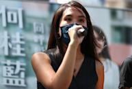 Gwyneth Ho, a former journalist turned social activist, was among those arrested in Hong Kong