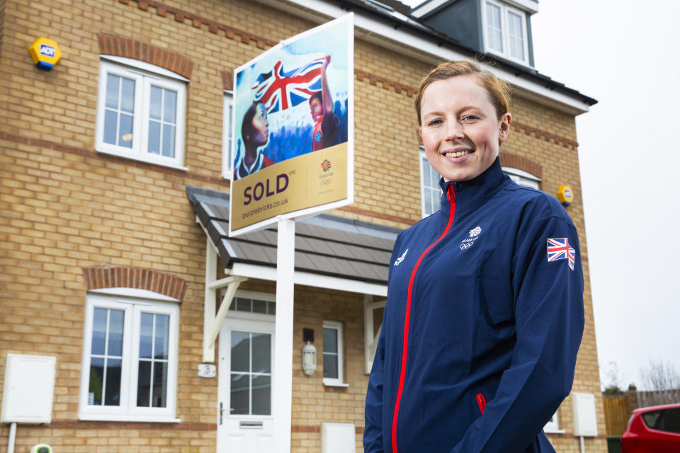 World triathlon champion Taylor-Brown is working with Purplebricks to encourage the nation to get behind Team GB on their journey to Tokyo