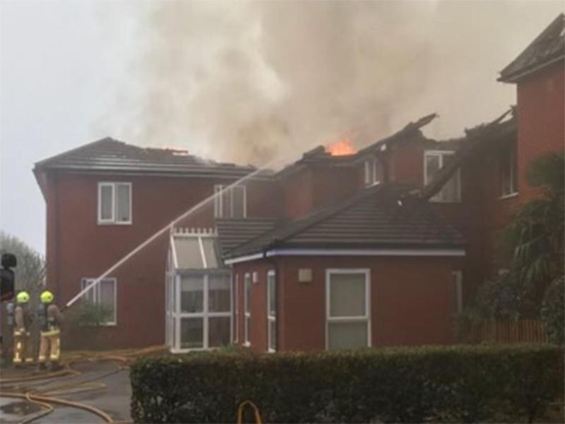 Crews made at least 33 rescues at the Newgrange care home: HFRS