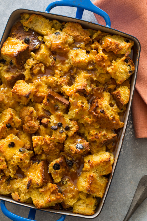 """<p>Traditional Irish soda bread meets bread pudding with spiced cream and caramel sauce. Got stale soda bread? Use it up in this epic dessert (or breakfast, we won't judge).</p><p><em><a href=""""http://www.spoonforkbacon.com/2015/03/irish-soda-bread-pudding/"""" rel=""""nofollow noopener"""" target=""""_blank"""" data-ylk=""""slk:Get the recipe from Spoon Fork Bacon »"""" class=""""link rapid-noclick-resp"""">Get the recipe from Spoon Fork Bacon »</a></em> </p>"""