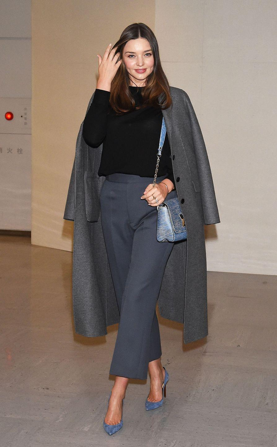 <p><strong>Miranda Kerr, 2019: </strong>The model arrived in Tokyo dressed to impress and basically put everyone else to shame for ever exiting an aircraft with crumbs on their leggings or disheveled hair.</p>