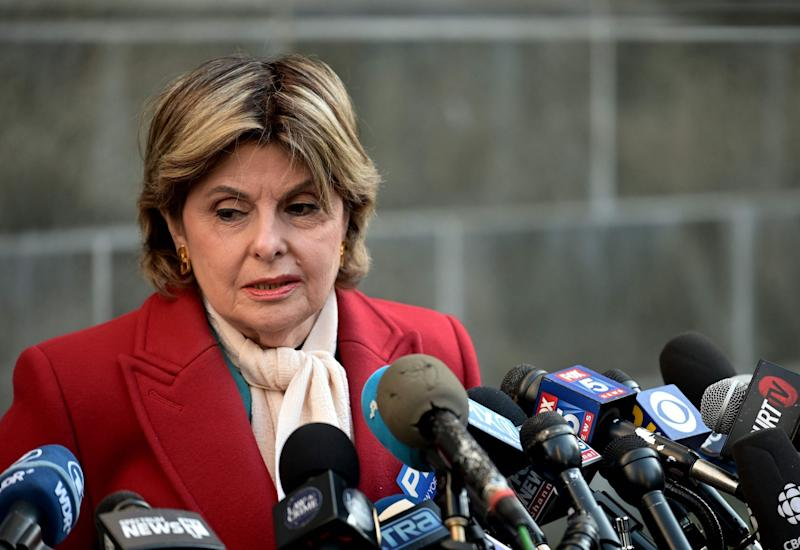 Attorney Gloria Allred said she would see Weinstein at his next trial (AFP via Getty Images)