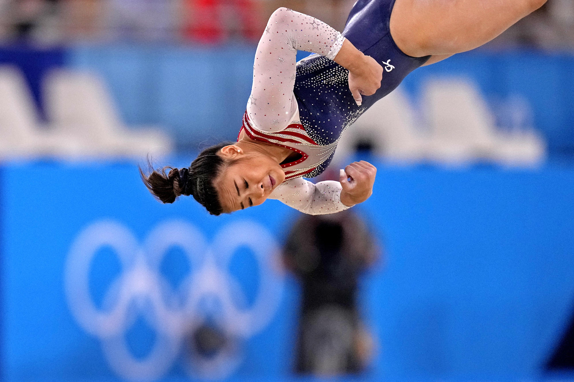 Day 6 Olympic roundup: Gymnast gold, soccer longevity and a blue bandanna