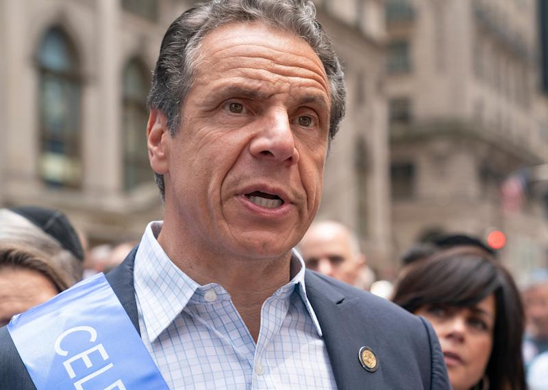New York Gov. Andrew Cuomo (D) has recast himself as a liberal reformer, vowing to sign as progressive of bills as legislators can pass on rent laws and climate change. (Photo: Getty Editorial)