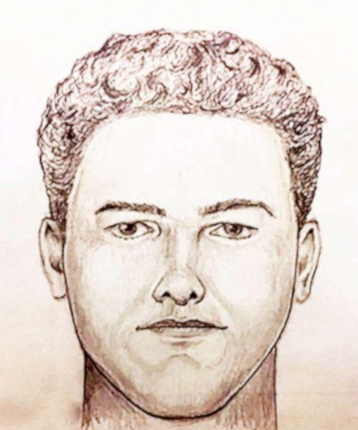 PHOTO: Indiana State Police released in 2019 a witness sketch of the suspect in the unsolved murders of two teen girls. (Indiana State Police)