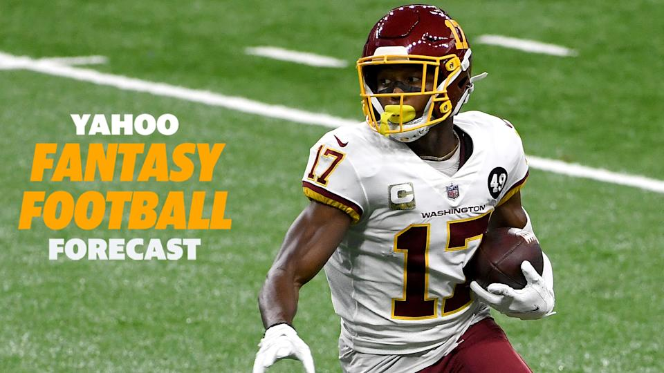 Scott Pianowski & Sammy Reid are high on Terry McLaurin and the Washington Football Team's 2021 prospects on the latest episode of the Yahoo Fantasy Football Forecast. (Photo by Nic Antaya/Getty Images)