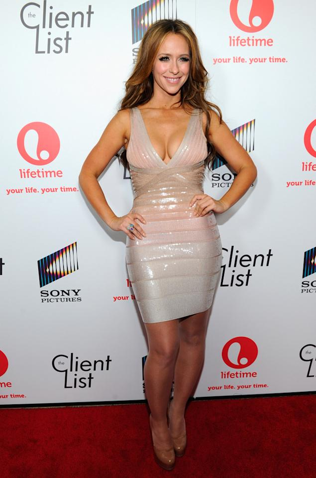 """Jennifer Love Hewitt attends the launch party for Lifetime's """"<a href=""""http://tv.yahoo.com/client-list/show/47678"""">The Client List</a>"""" at Sunset Tower on April 4, 2012 in West Hollywood, California."""