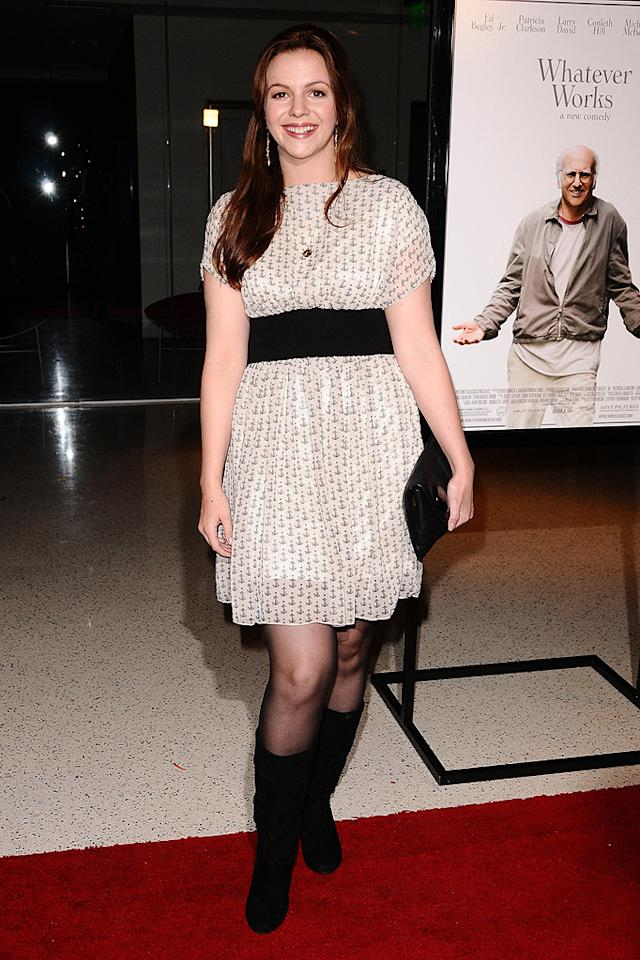 """<a href=""""http://movies.yahoo.com/movie/contributor/1800295169"""">Amber Tamblyn</a> at the Los Angeles premiere of <a href=""""http://movies.yahoo.com/movie/1810007788/info"""">Whatever Works</a> - 06/08/2009"""