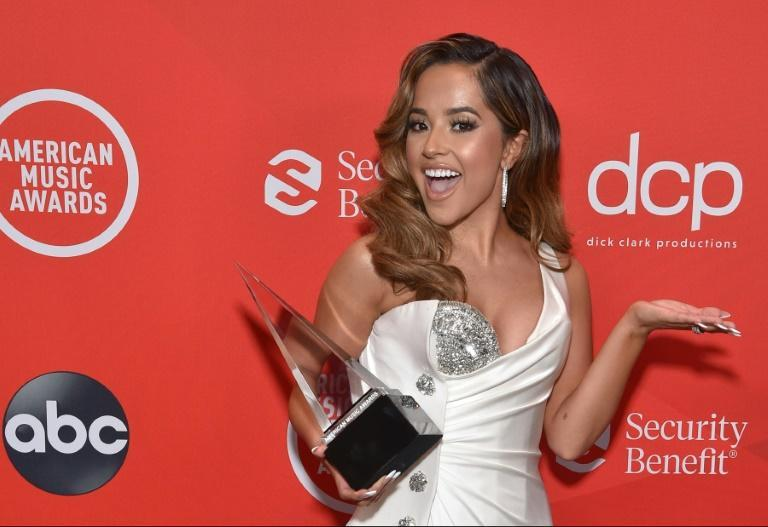 Becky G, shown here at the 2020 American Music Awards, has a new track out with Natti Natasha celebrating sexual empowerment