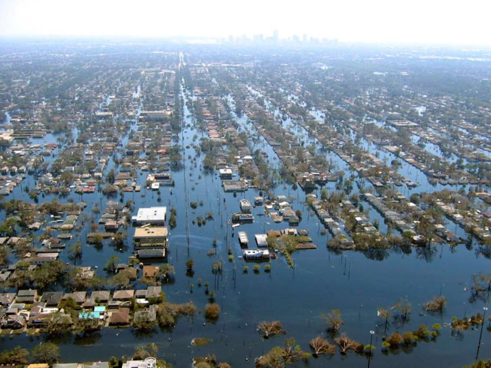 Recalling Hurricane Katrina and the levee flaws that led to catastrophic floods