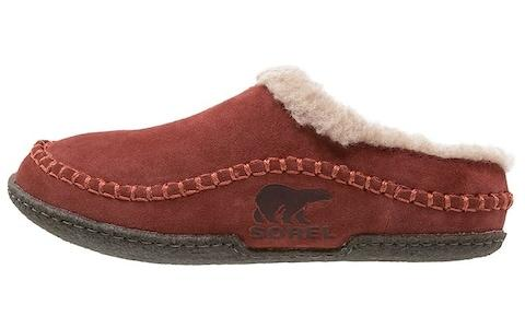 sorel wool slipper